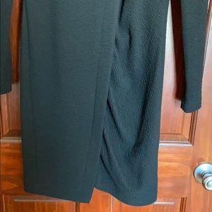 Dkny Dresses - DKNY Suckered Long Sleeve Career Dress